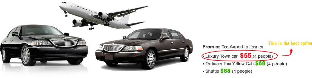 THE MOST RELIABLE LUXURY TRANSPORTATION SERVICE IN ORLANDO, FLORIDA!
